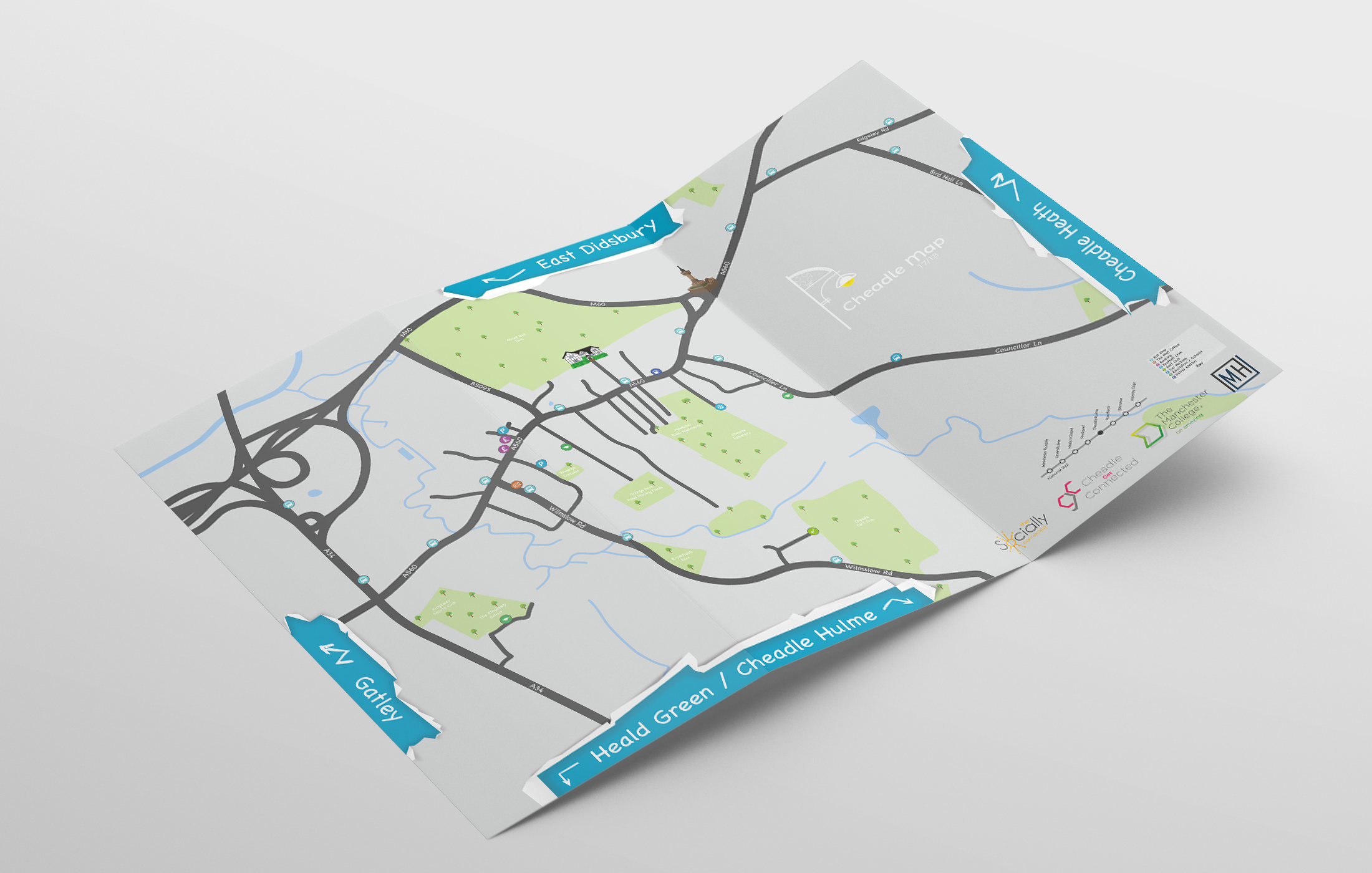 Cheadle Map & Branding